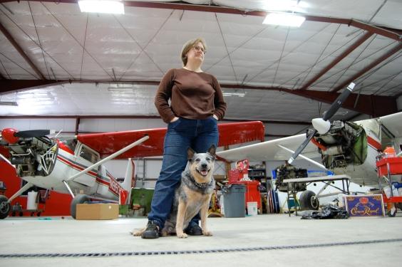 Brady and I at Ward's Aero