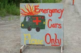 Forest Fair signs