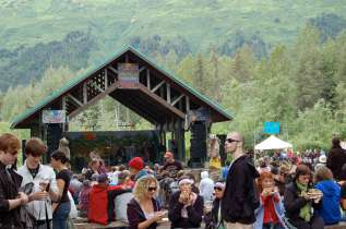 Forest Fair main stage