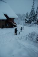 Snowshoe adventure